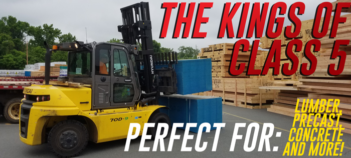 King of Class 5 Forklift